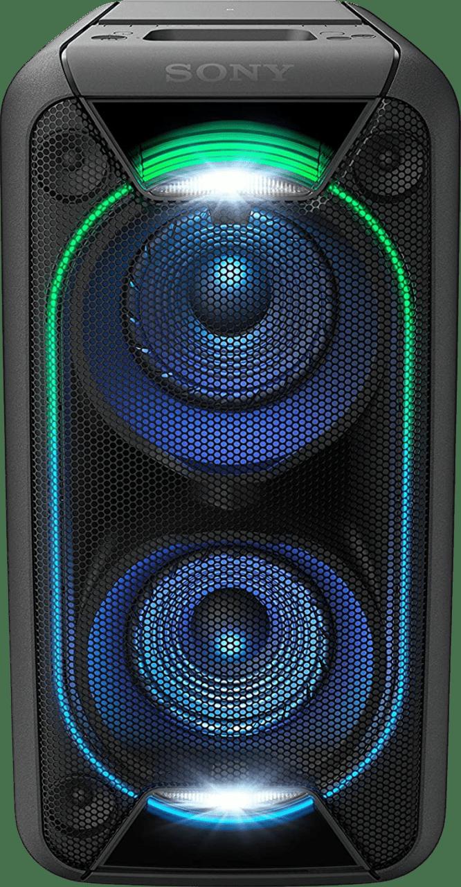 Schwarz Sony GTK-XB90 2.0 Partybox Party Bluetooth Speaker.1