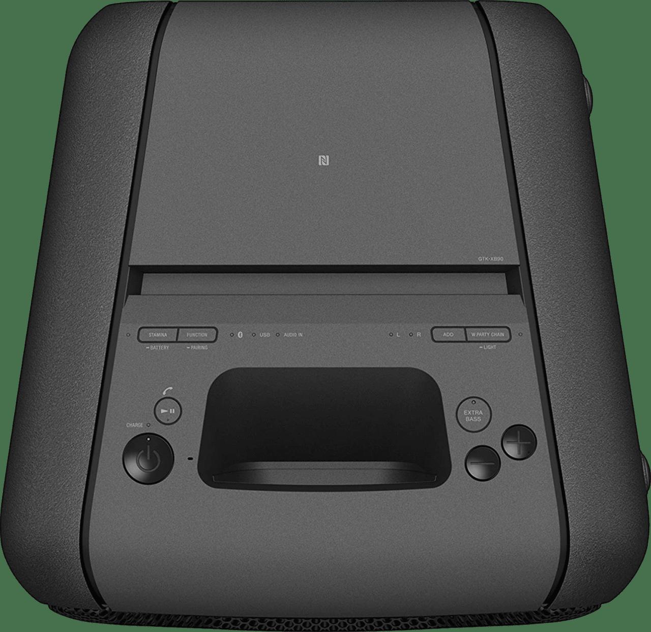 Schwarz Sony GTK-XB90 2.0 Partybox Party Bluetooth Speaker.3