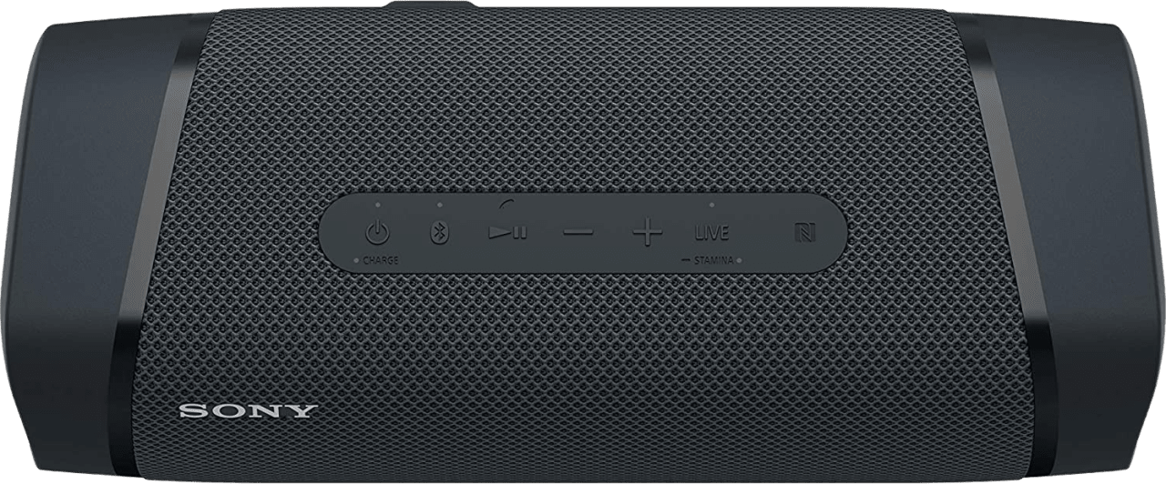Black Sony SRS-XB33 EXTRA BASS Portable Bluetooth Speaker.3