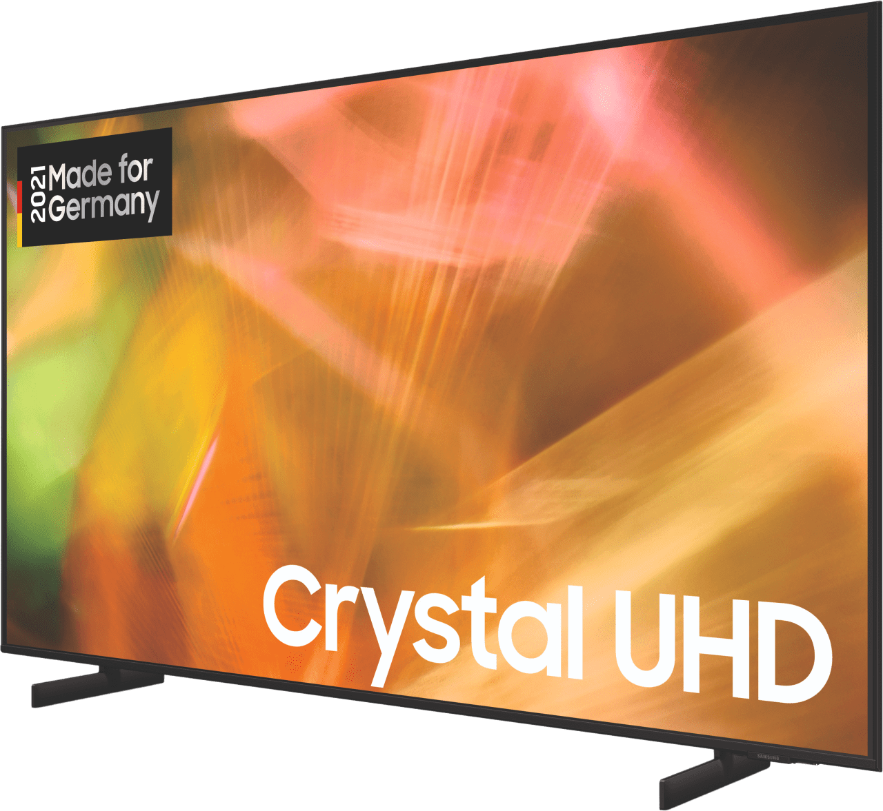 Schwarz Samsung TV 55 Zoll GU55AU8079UXZG LED UHD 4K.3
