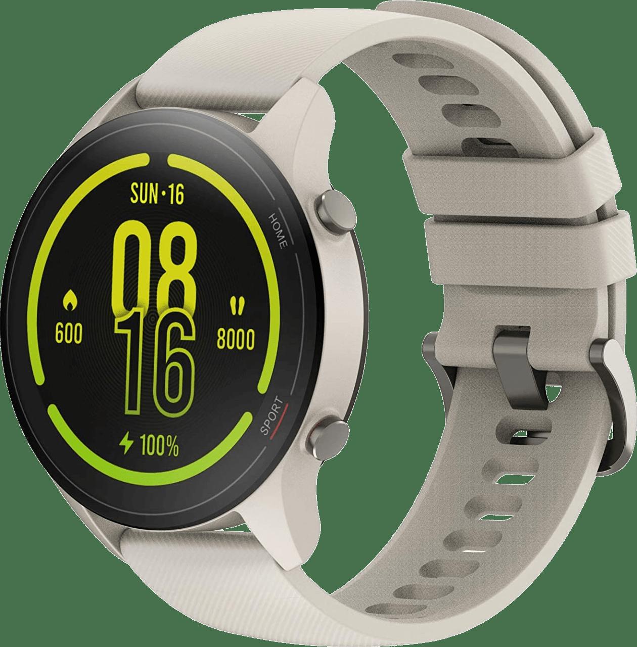Beige Xiaomi Mi Watch, 46mm Glass Fiber Reinforced Case.1