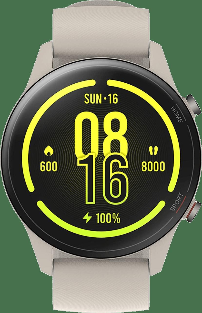 Beige Xiaomi Mi Watch, 46mm Glass Fiber Reinforced Case.2