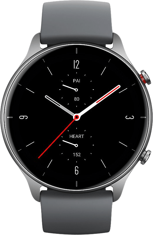 Schiefergrau Amazfit GTR 2e Smartwatch, 46mm Alumium-Gehäuse.2