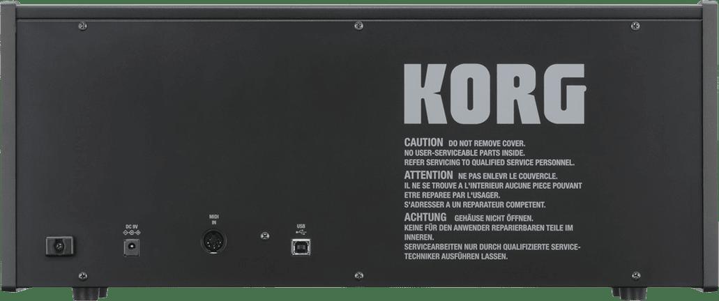 Schwarz Korg MS-20 mini Monophoner Analog-Synthesizer.3