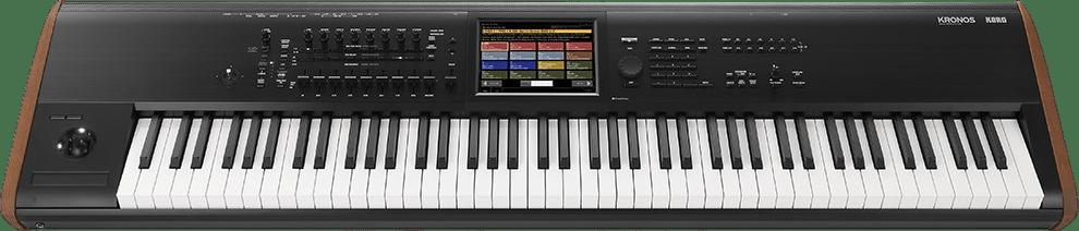 Schwarz Korg Kronos 61 Synthesizer-Workstation.2