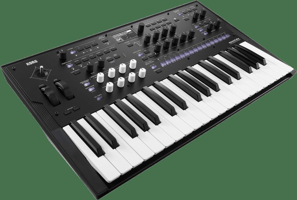 Black Korg Wavestate Digital Synthesizer.2