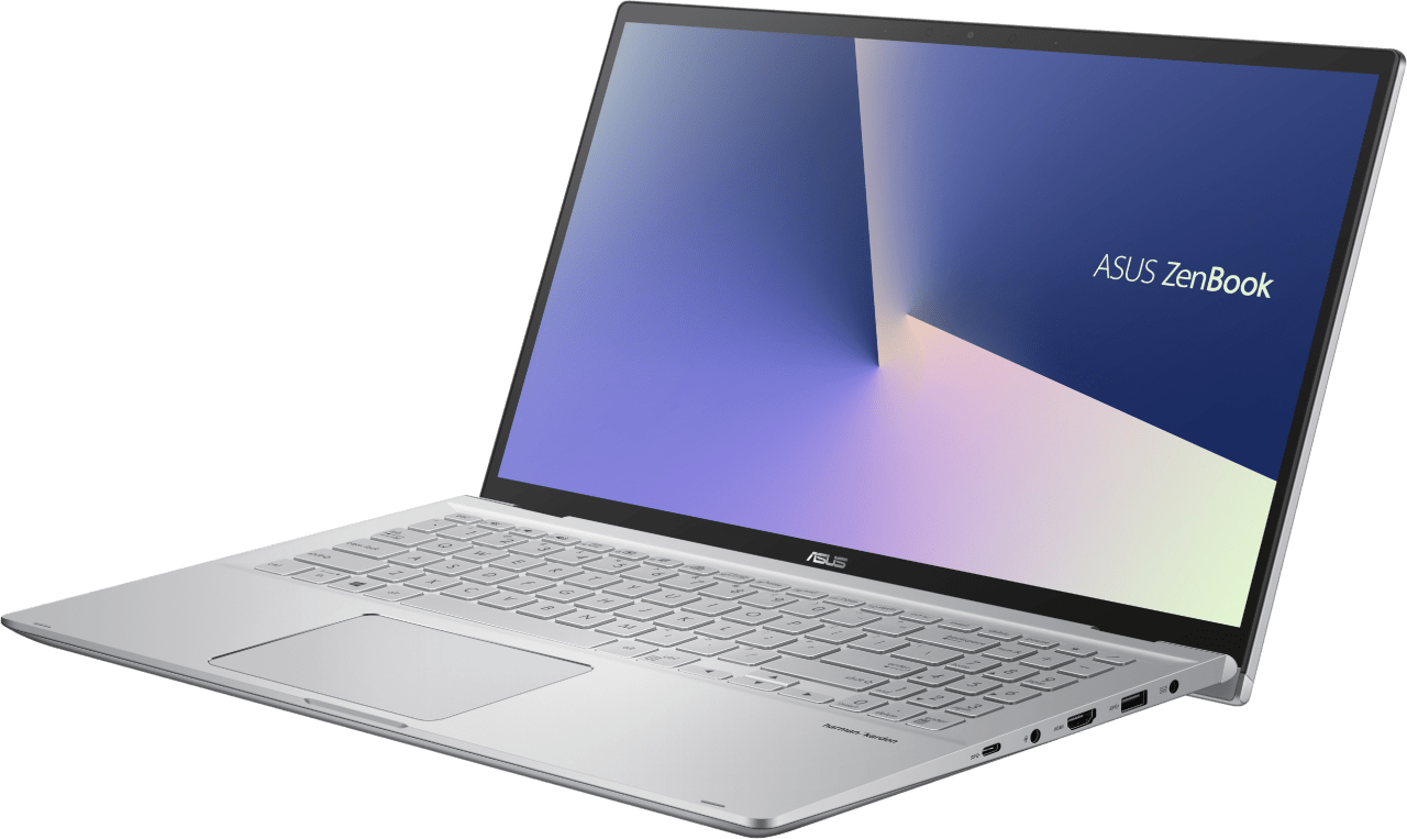 """Silver Asus Zenbook Flip 15"""" Convertible - AMD Ryzen™ 5 4500U - 8GB - 512 GB SSD - AMD Radeon™ Graphics.3"""