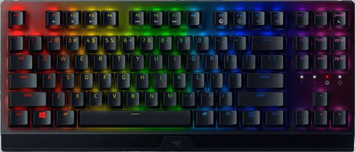 Black Razer BlackWidow V3 Tenkeyless - Green Switch Keyboard.1