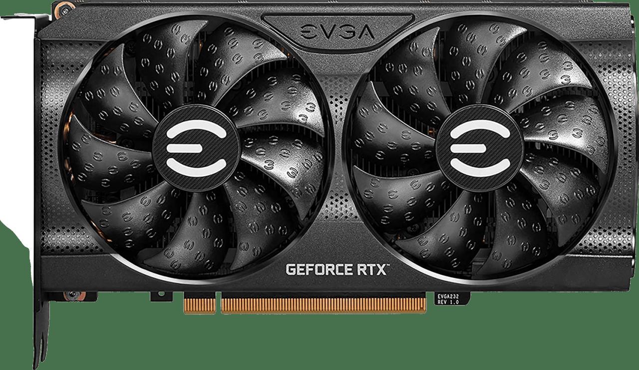 Black EVGA GeForce RTX™ 3060 XC Gaming Graphics Card.1