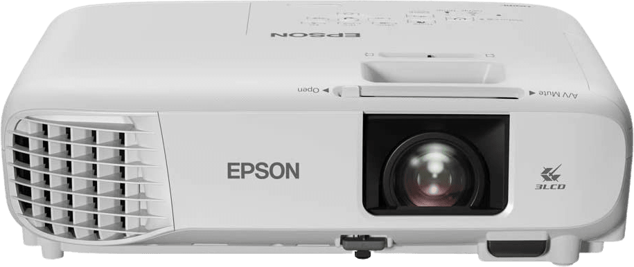 White Epson EB-FH06 Projector - Full HD.5