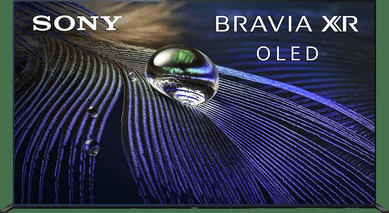 """Black Sony TV 55"""" XR55A90J BRAVIA XR 4K HDR OLED.1"""