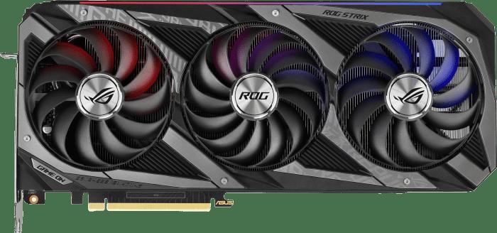 Black Asus GeForce RTX™ 3070 ROG Strix Gaming OC 8GB Graphics Card.1