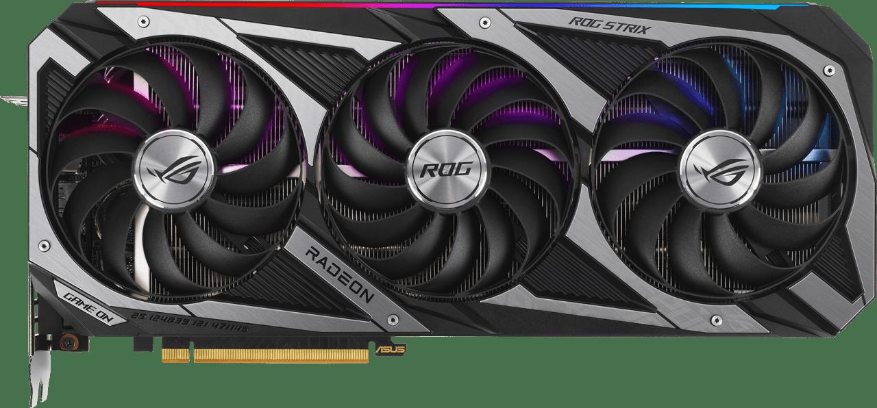 Black Asus ROG Strix Radeon RX 6700 XT OC Graphics Card.1