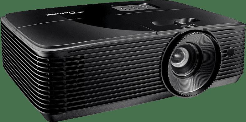 Black Optoma HD146X Projector - Full HD.2