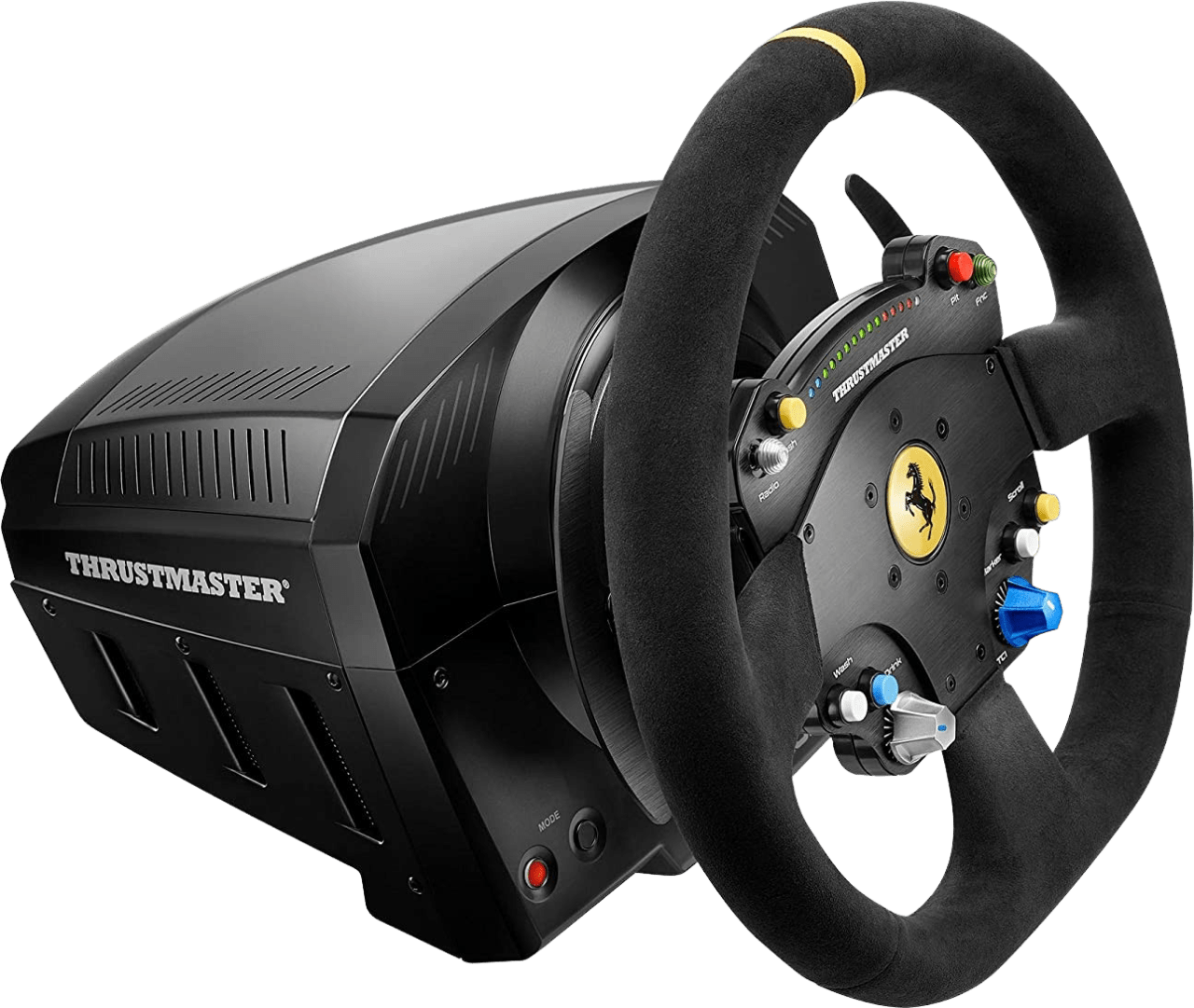 Black Thrustmaster TS-PC Ferrari 488 Challenge Edition Racing Steering Wheel.2