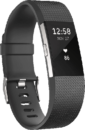 Black, S Fitbit Charge 2.2