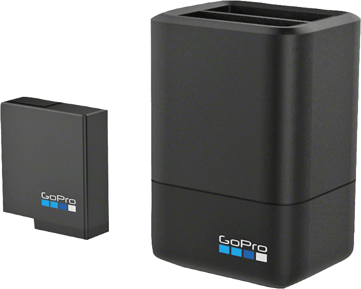 Black GoPro Dual Battery Charger with HERO5 Black Battery.2