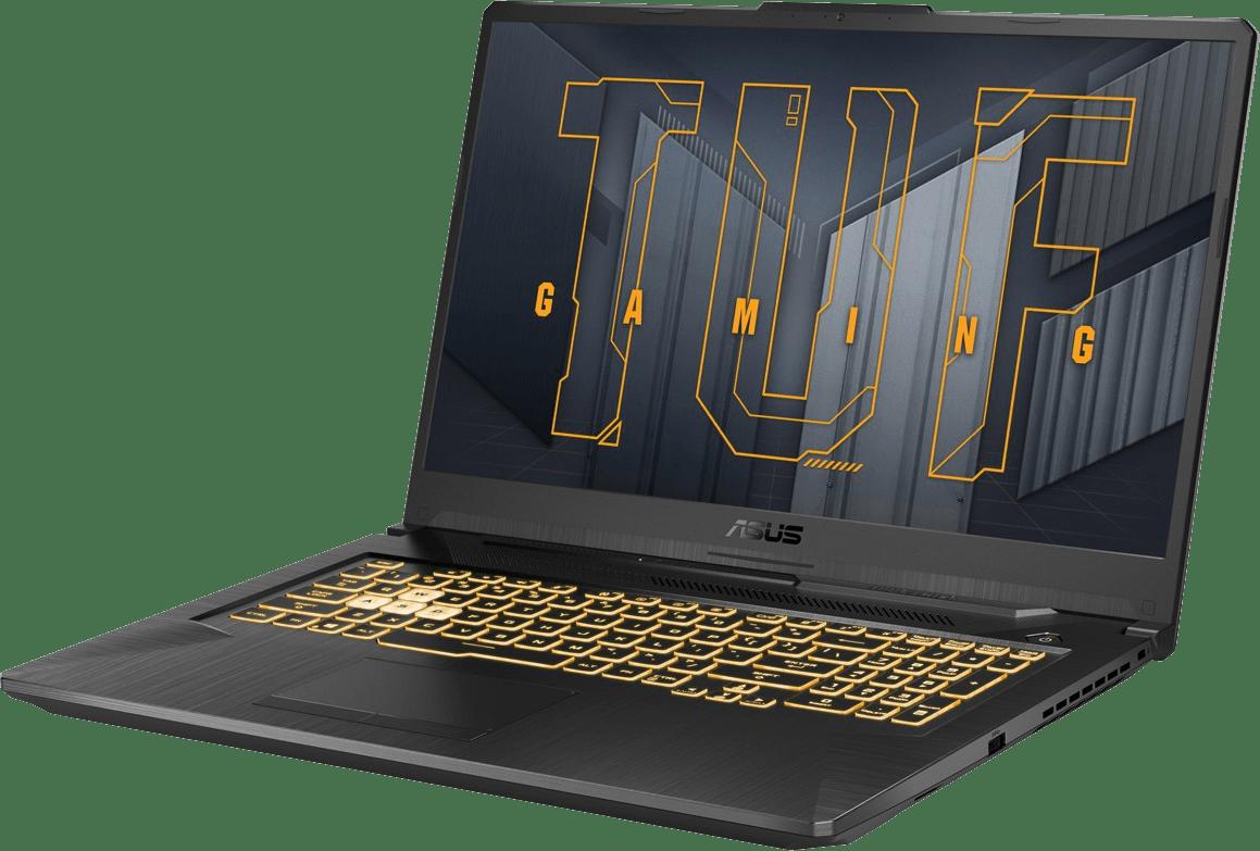 Grey  Asus TUF Gaming A17 FA706QM-HX055T - Gaming Laptop - AMD Ryzen™ 7 5800H - 8GB - 512GB SSD - NVIDIA® GeForce® RTX 3060.2