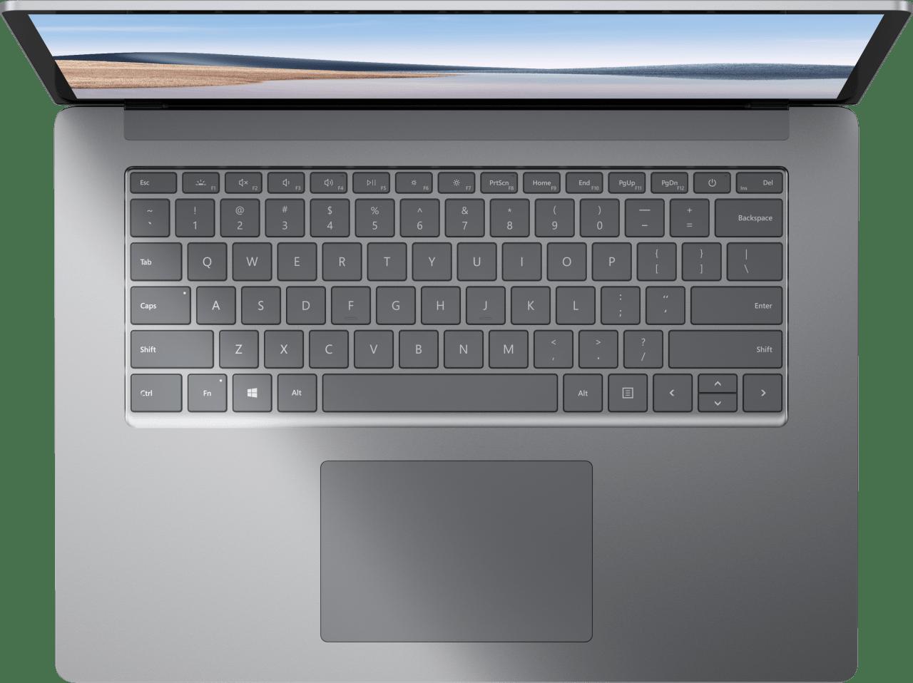 Platin Microsoft Surface Laptop 4 Notebook - AMD Ryzen™ 7 4980U - 8GB - 256GB SSD - AMD Radeon™ Vega RX 11.3