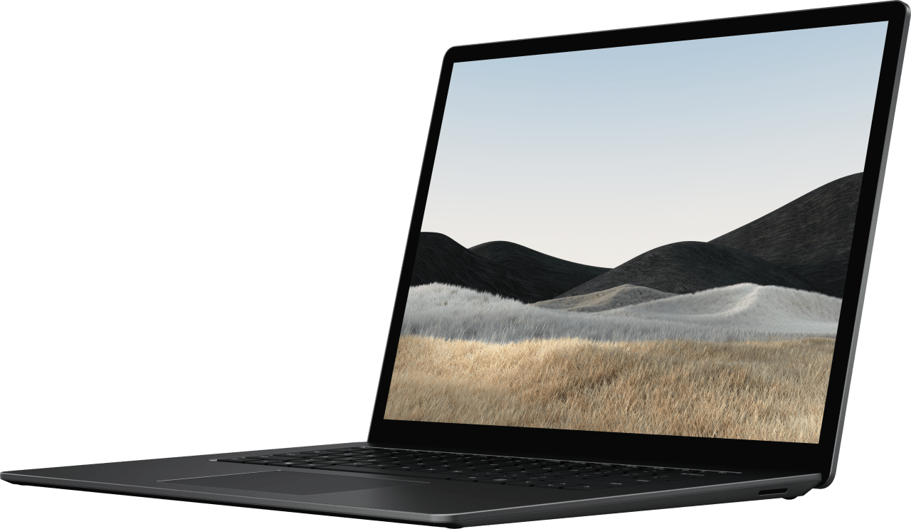 Schwarz (Metall) Microsoft Surface Laptop 4 Notebook - AMD Ryzen™ 7 4980U - 16GB - 512GB SSD - AMD Radeon™ Vega RX 11.2