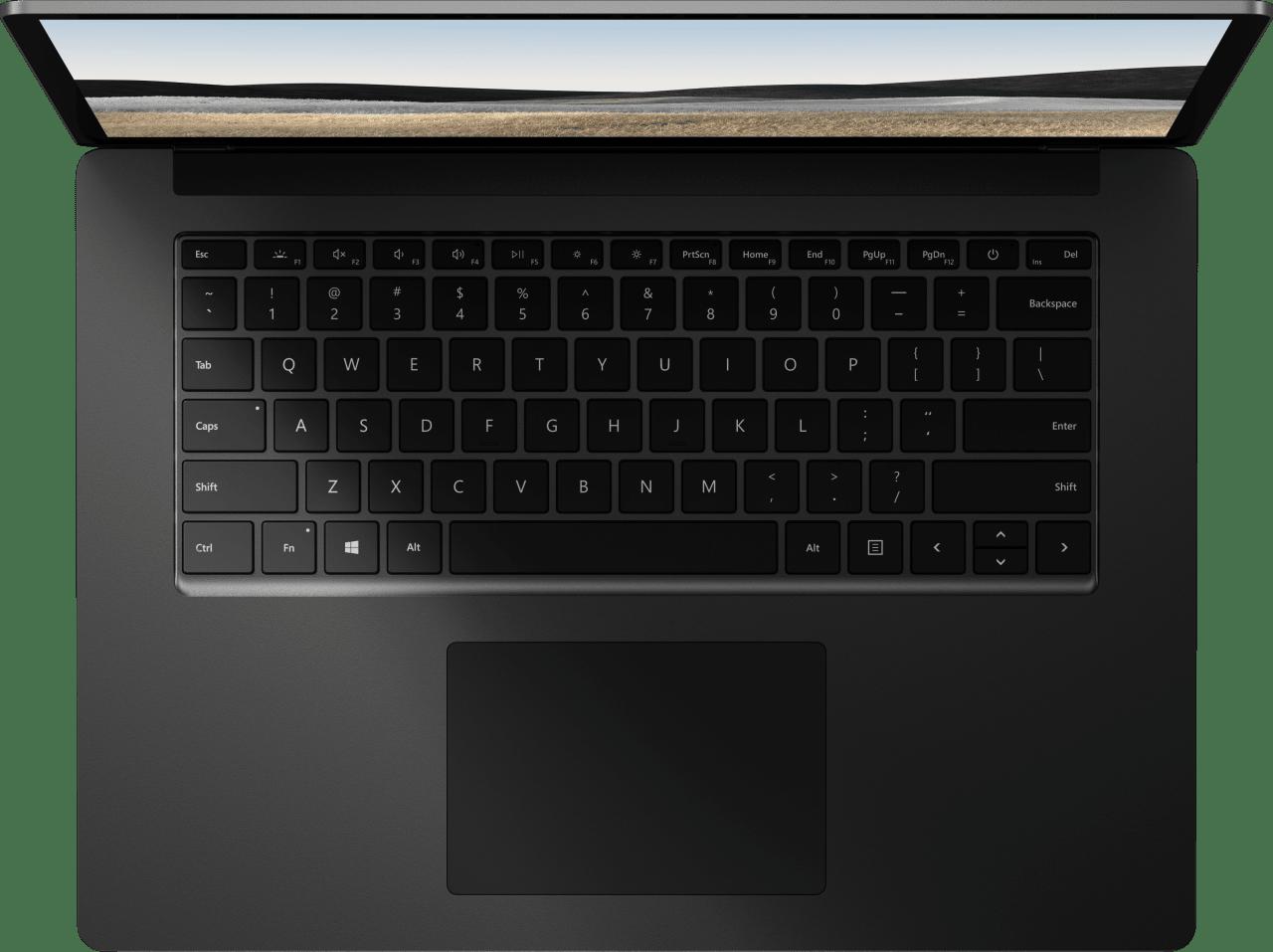 Schwarz (Metall) Microsoft Surface Laptop 4 Notebook - AMD Ryzen™ 7 4980U - 16GB - 512GB SSD - AMD Radeon™ Vega RX 11.3