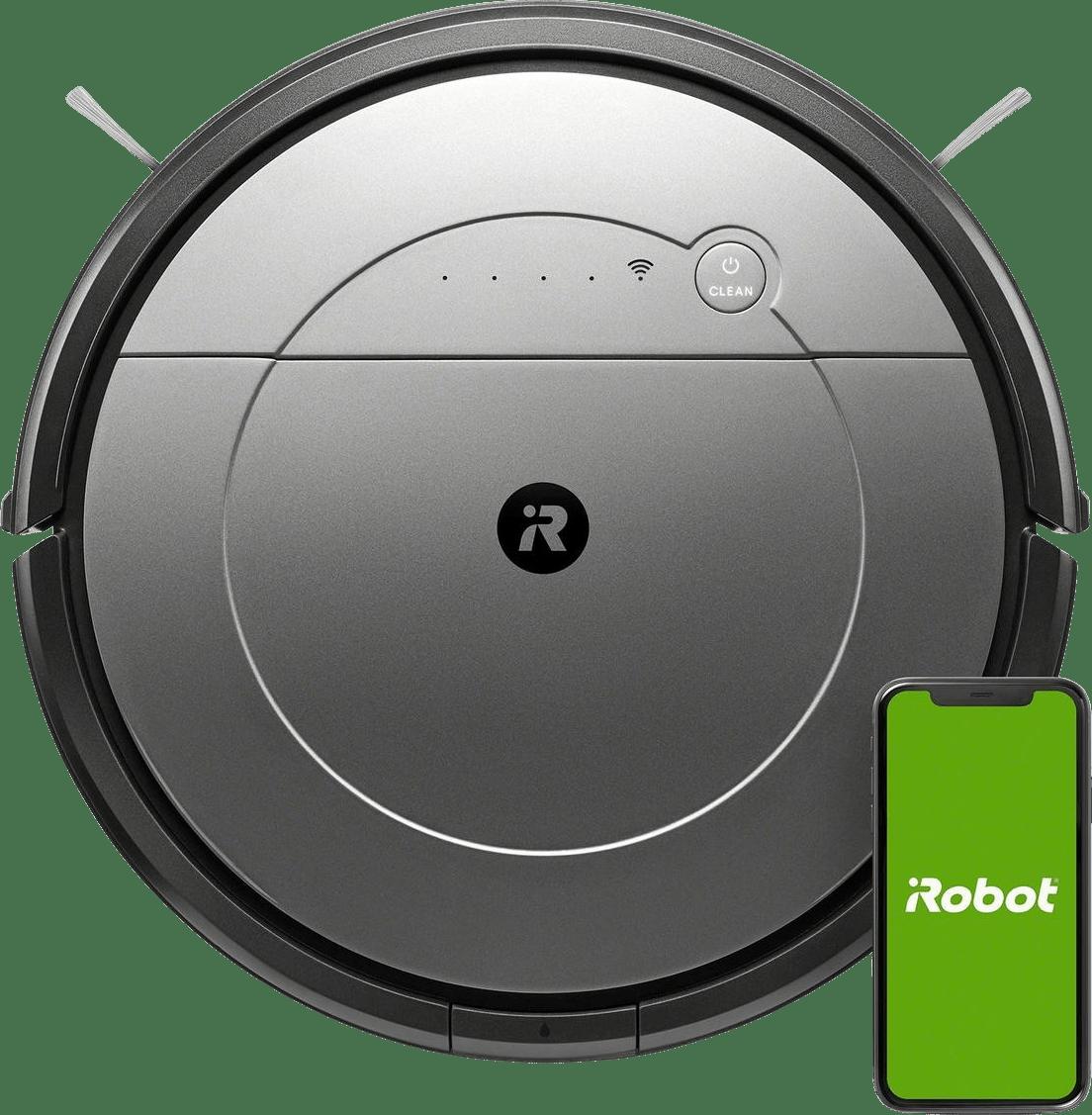 Grau iRobot Roomba Combo Saugroboter mit Wischfunktion.1
