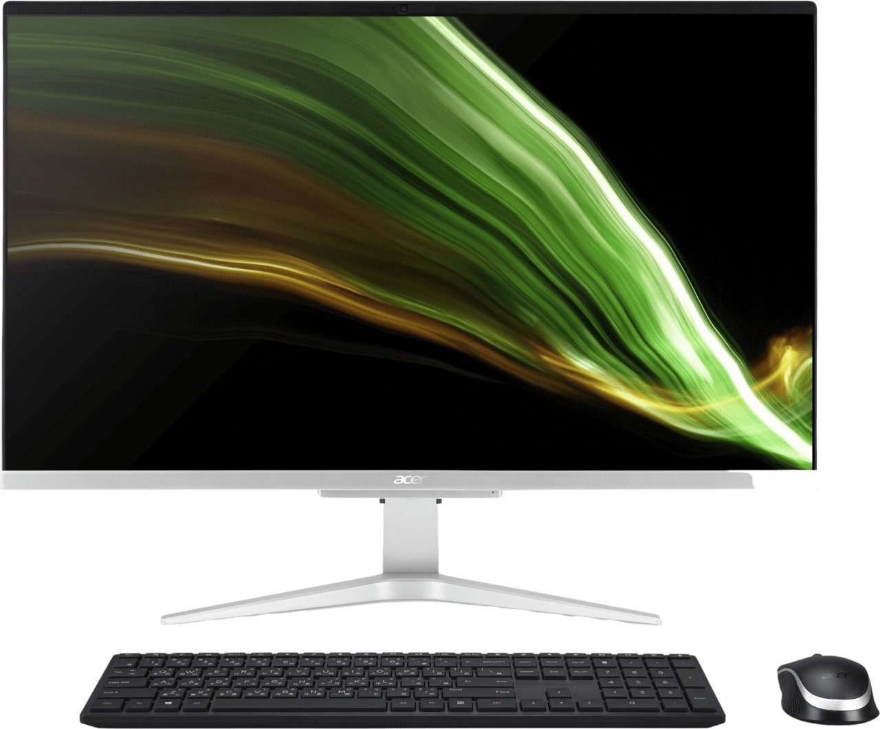 Silver Acer Aspire C27-1655 All-in-One - Intel® Core™ i7-1165G7 - 16GB - 1TB SSD - NVIDIA® GeForce® MX330.1