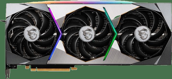 Black MSI GeForce RTX™ 3070 Ti Suprim X 8G Graphics Card.1