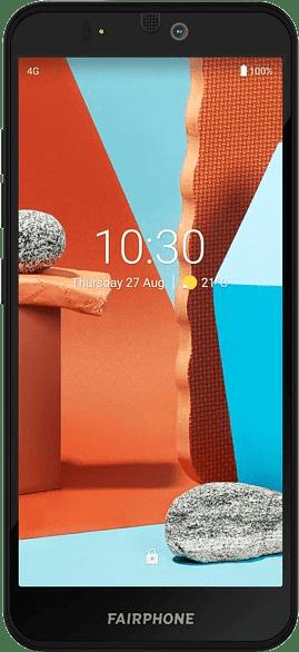 Black Fairphone 3+ 64GB - Smartphone - Dual SIM.1