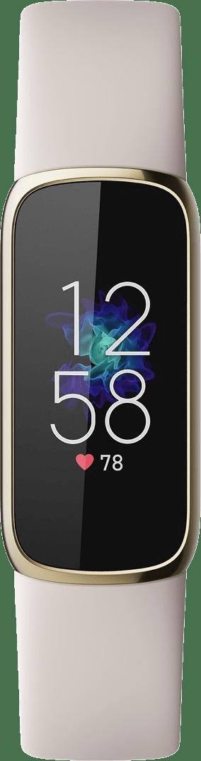 Weiches Gold / Mondweiß Fitbit Luxe Premium Aktivitäts-Tracker.2
