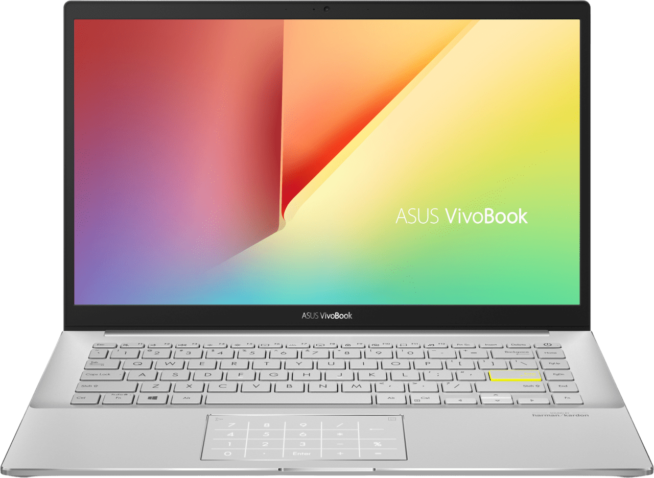 Silver Asus VivoBook S14 S433EA-AM612T - Spanish (QWERTY) Laptop - Intel® Core™ i7-1165G7 - 8GB - 512GB SSD - Intel® Iris® Xe Graphics.1