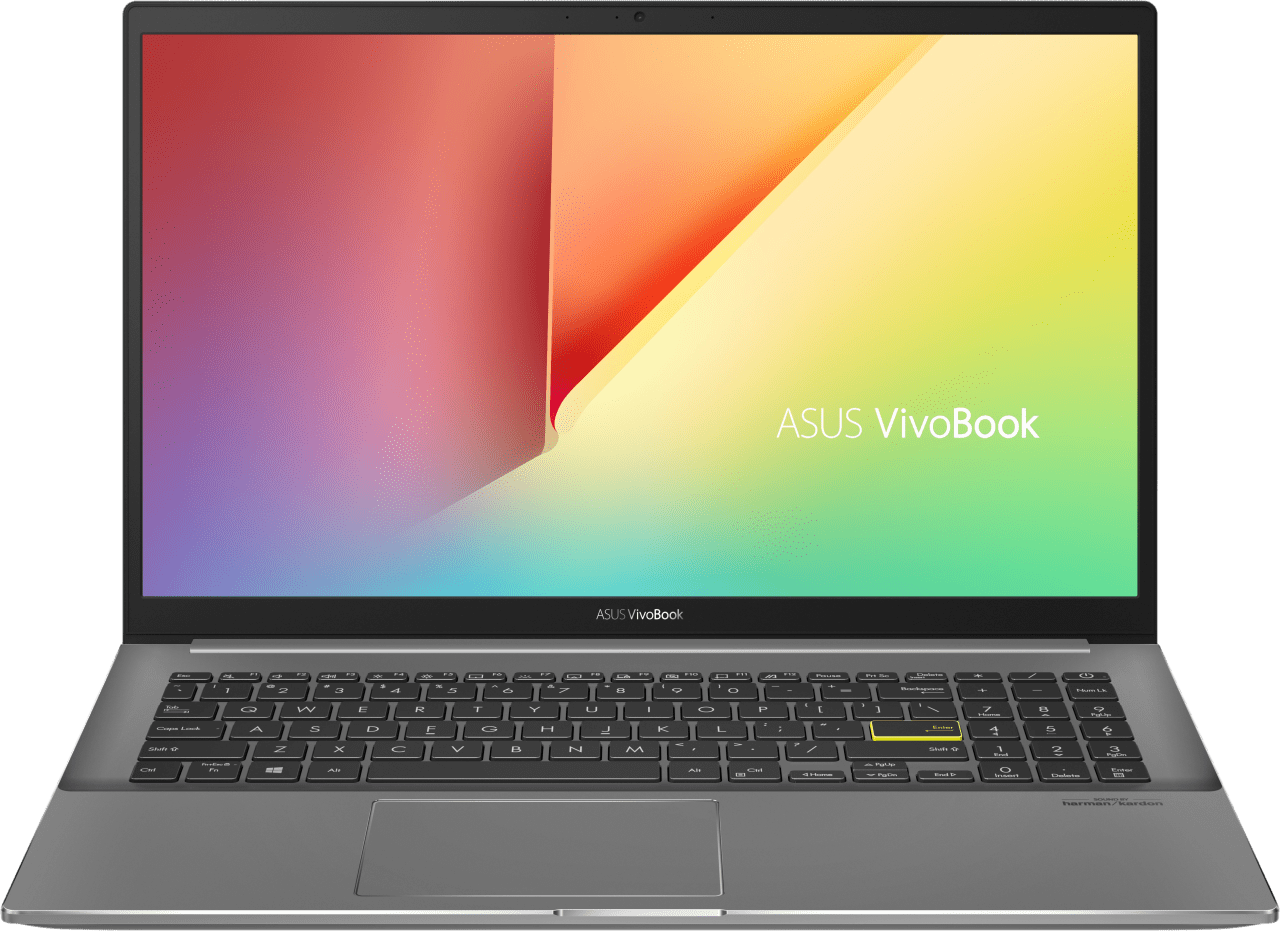 Grey Asus VivoBook S15 S533EA-BN241T - Spanish (QWERTY) Laptop - Intel® Core™ i5-1135G7 - 8GB - 512GB SSD - Intel® Iris® Xe Graphics.1