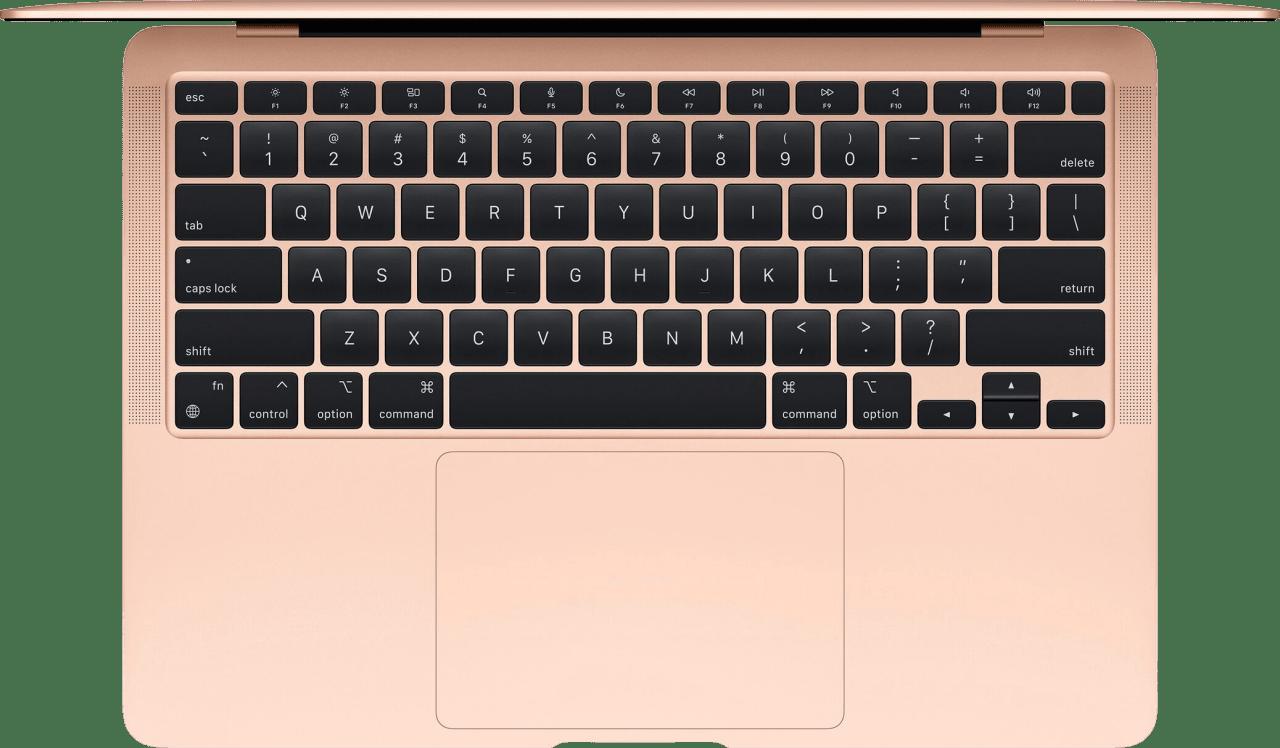 Gold Apple MacBook Air (Late 2020) - Spanish (QWERTY) Laptop - Apple M1 - 8GB - 256GB SSD - Apple Integrated 7-core GPU.2