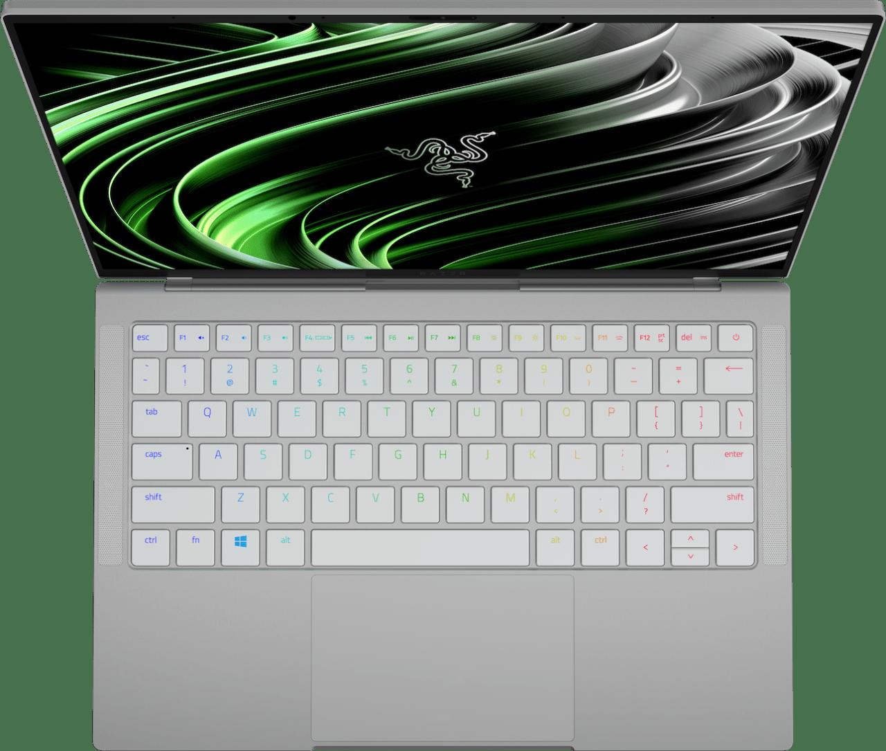 Mercury White Razer Book 13 - English (QWERTY) Notebook - Intel® Core™ i7-1165G7 - 16GB - 256GB SSD - Intel® Iris® Xe Graphics.4