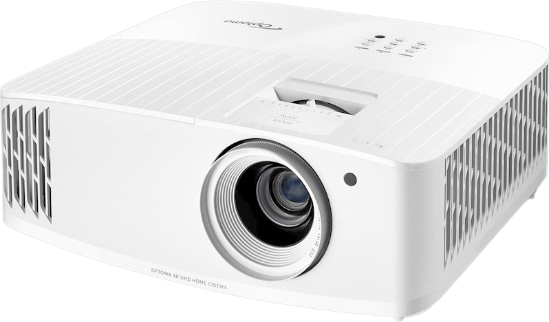 White Optoma UHD35 Projector - 4K UHD.1