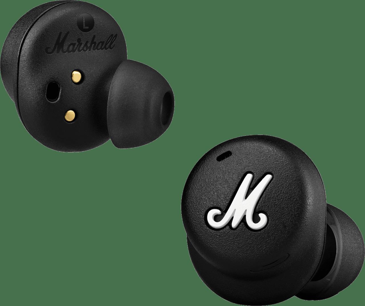 Black Headphones Marshall Mode II In-ear Bluetooth Headphones.1