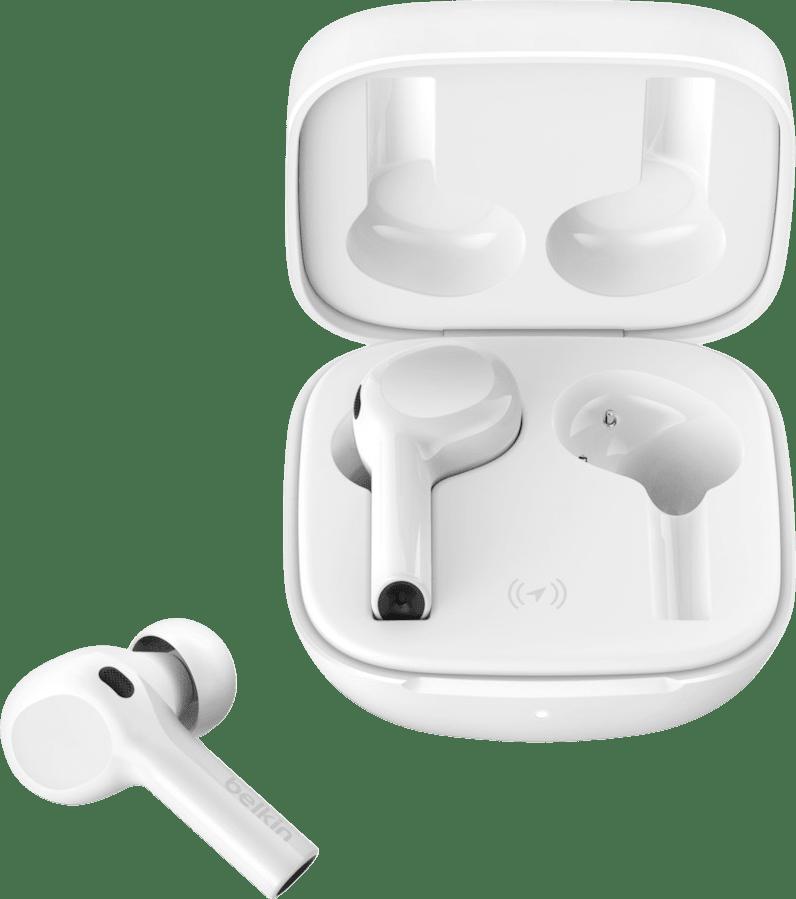Weiß Headphones Belkin Soundform Freedom In-ear Bluetooth Headphones.1