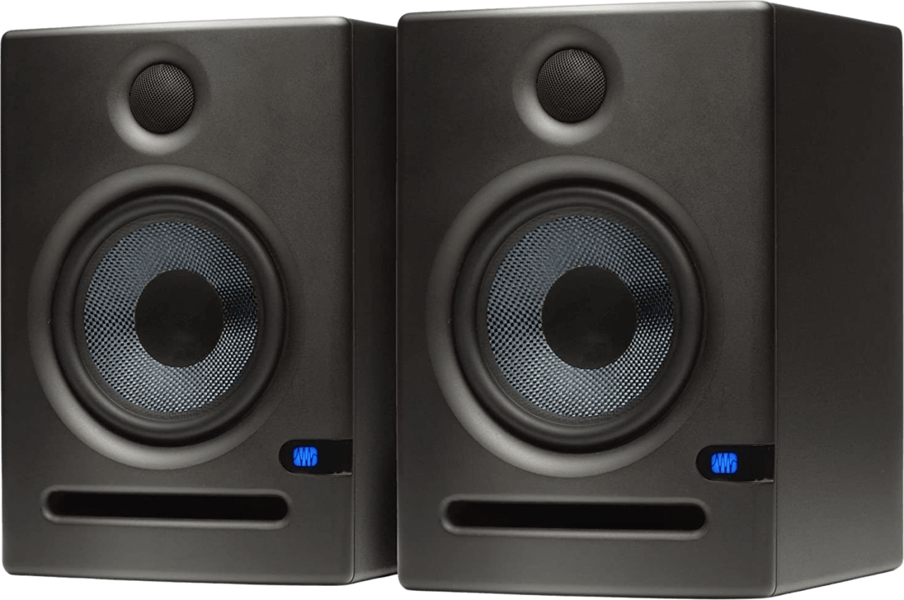 Schwarz PreSonus Eris E5 (Paar) Aktiver Studio-Monitor.1