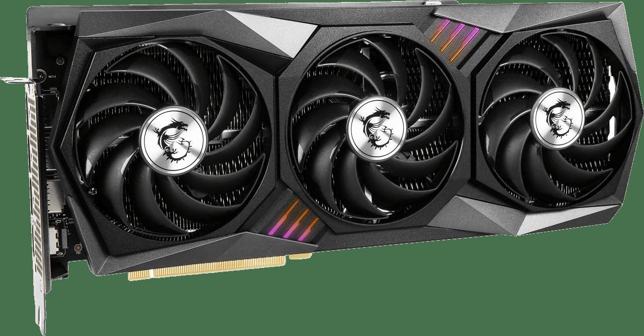 Black MSI GeForce RTX™ 3080 Ti Gaming X Trio 12G Graphics Card.1