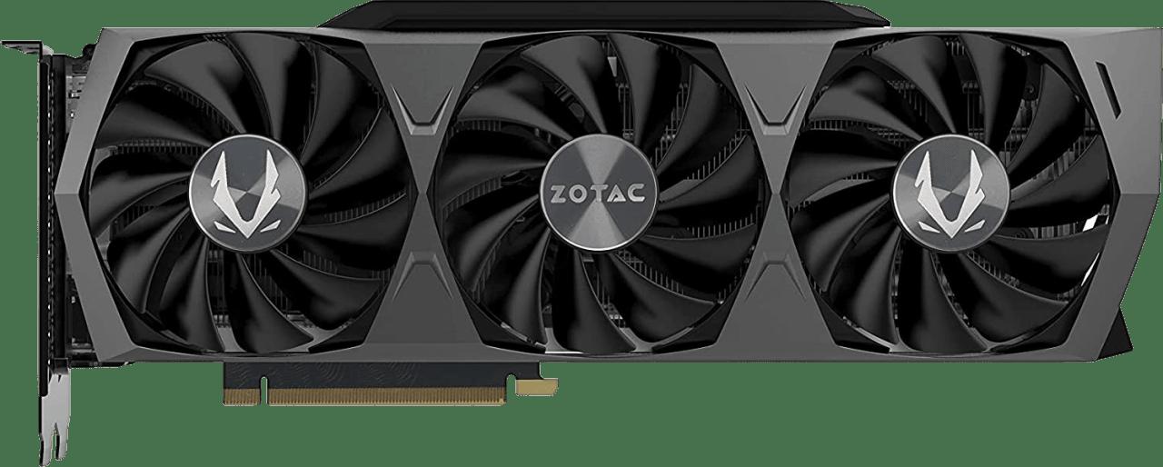 Black ZOTAC GAMING GeForce RTX 3080 Ti Trinity Tarjeta gráfica.1