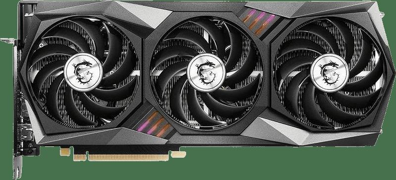 Black MSI GeForce RTX™ 3070 Gaming Z Trio Graphics Card.1
