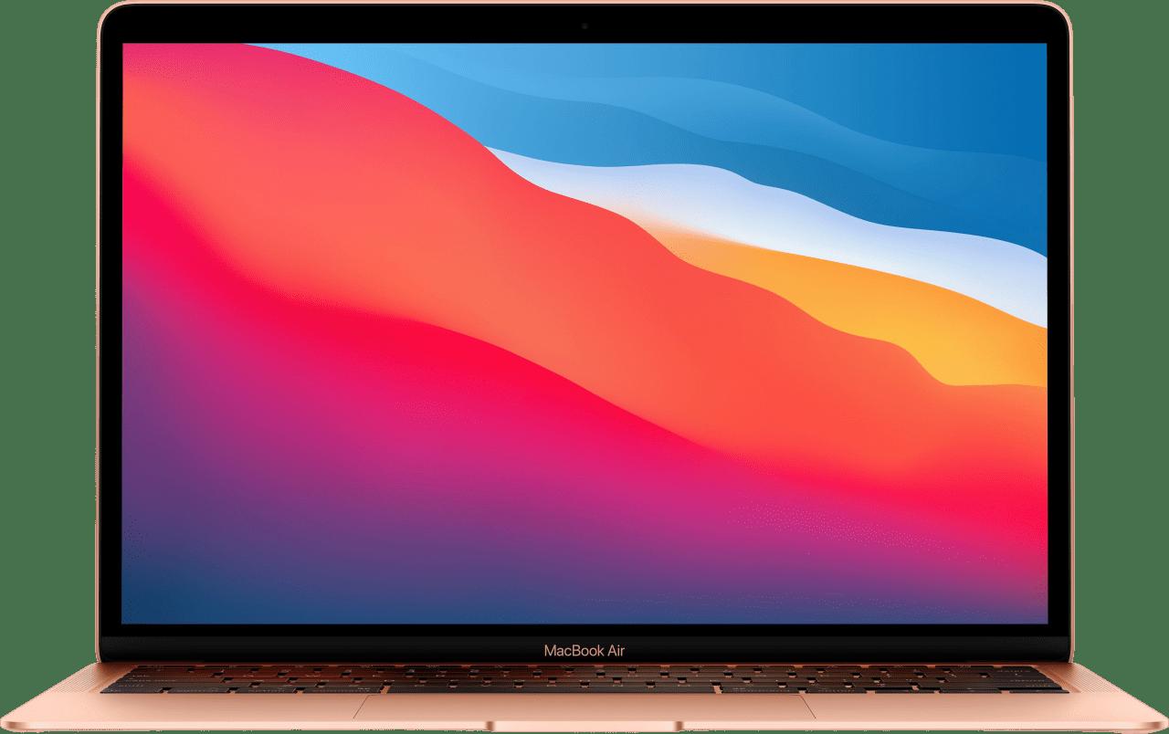 Gold Apple MacBook Air (Late 2020) - English (QWERTY) Laptop - Apple M1 - 8GB - 256GB SSD - Apple Integrated 7-core GPU.1