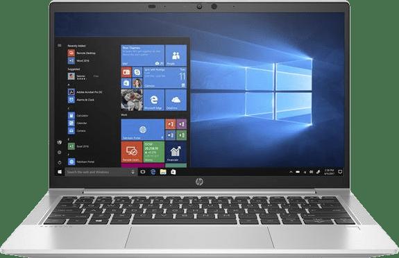 Silver HP ProBook 635 Aero Laptop - AMD Ryzen™ 5 4650U - 8GB - 256GB SSD - AMD Radeon™ Graphics.1