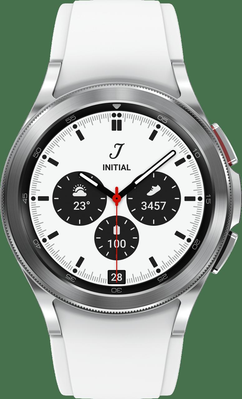 Silver Samsung Galaxy Watch4 Classic LTE, 42mm.3