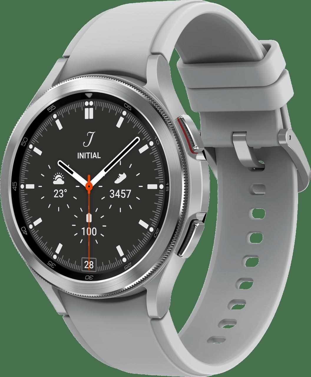Zilver Samsung Galaxy Watch4 Classic, 46mm.1