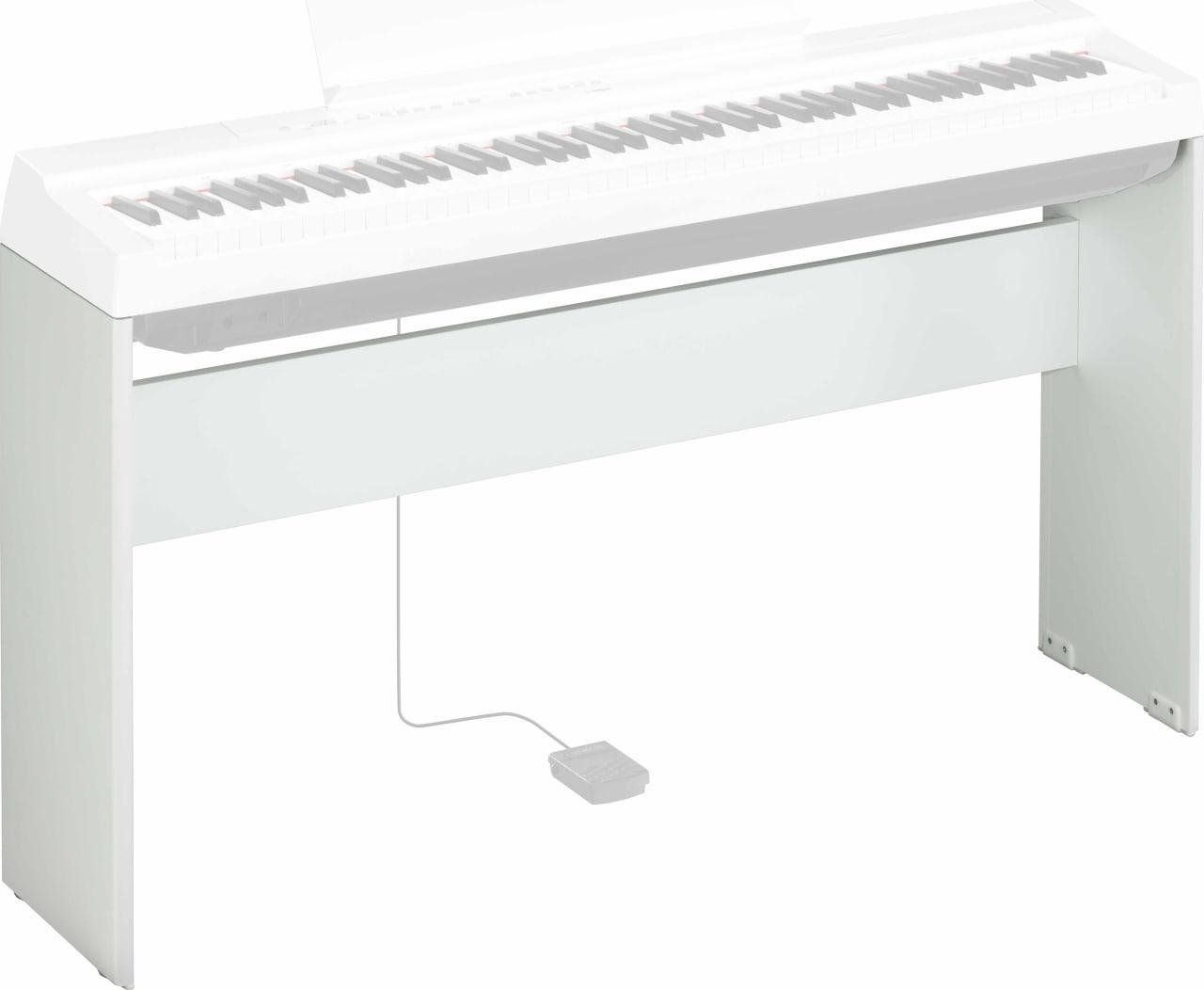 Blanco Soporte Yamaha L-125 para teclado P-125.1