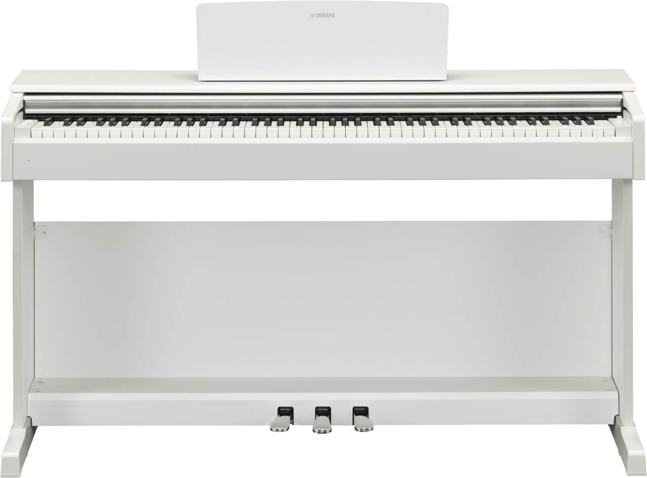 White Yamaha YDP-144 88-Key Digital Piano.2