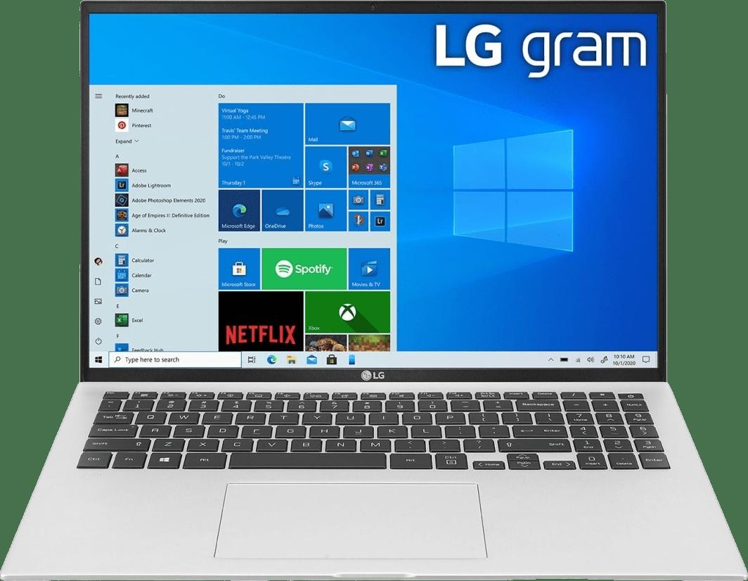 Silber LG gram 17 Notebook - Intel® Core™ i7-1165G7 - 16GB - 512GB SSD - Intel® Iris® Xe Graphics.1
