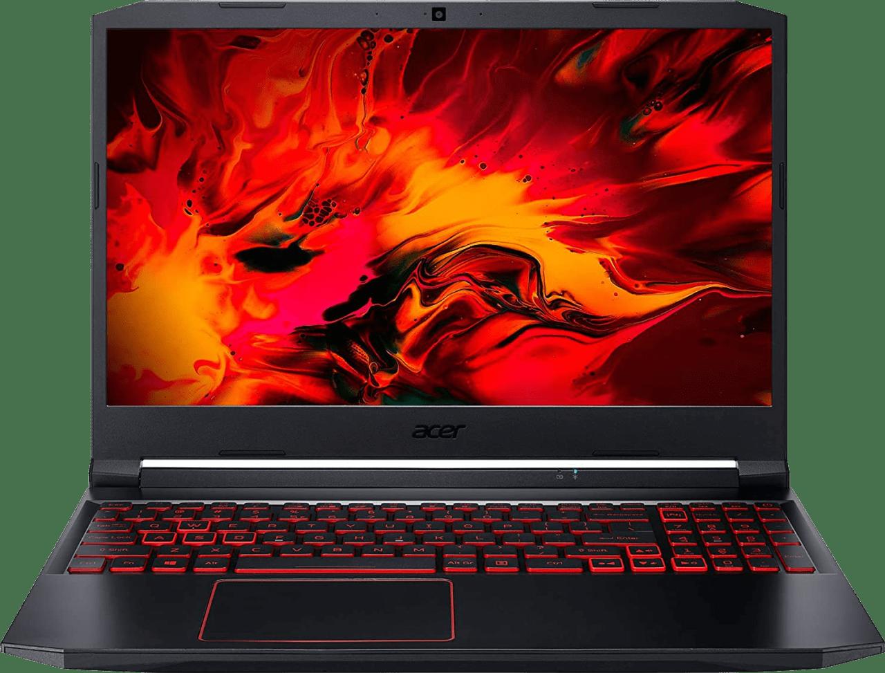 Schwarz / Rot Acer Nitro 5 AN517-52-7454 - Gaming Notebook - Intel® Core™ i7-10750H - 16GB - 512GB SSD - NVIDIA® GeForce® RTX 3050 Ti (4GB).1