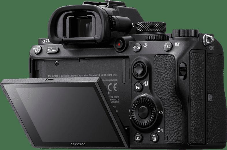 Black Sony ALPHA 7 III Body (ILCE7M3) System Camera.3